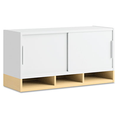 Momentum Collection Hutch with Doors, 36w x 13d x 18-5/8h, Accor
