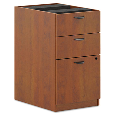 BL Laminate Three-Drawer Pedestal File, 15-5/8 x 21-3/4 x 27-3/4