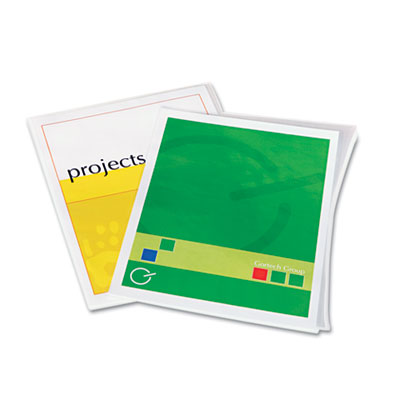 Laminating Pouches, 3mil, 11 1/2 x 9, 25/Pack