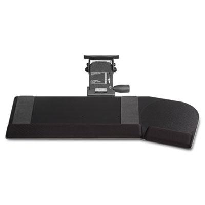 Leverless Lift N Lock California Keyboard Tray, 28 x 10, Black