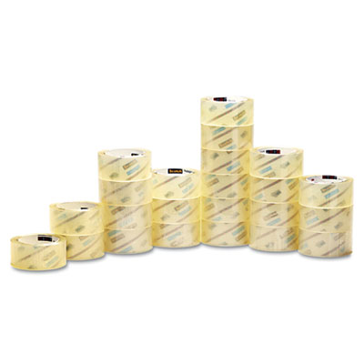 "3750 Packaging Tape, 1.88"" x 54.6yds, 3"" Core, Clear, 48/Carton"