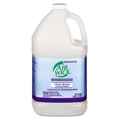 Professional Liquid Deodorizer, Clean Breeze, Concentrate, 1gal,