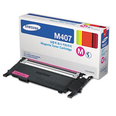 CLT-M407S (SU268A) Toner, 1000 Page-Yield, Magenta<br />91-SAS-SU268A