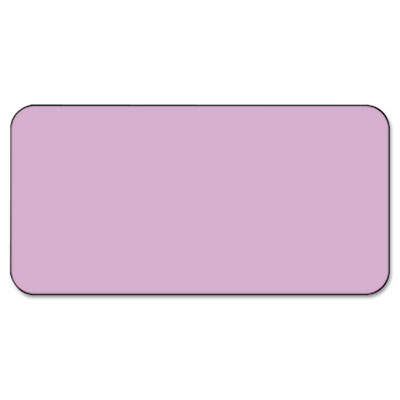 SBS1 Color-Coded Labels, Self-Adhesive, 1/2 x 1, Lavender, 250 L