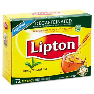 Tea Bags, Decaffeinated, 72/Box