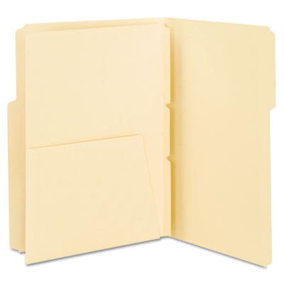 MLA Self-Adhesive Folder Dividers with 5-1/2 Pockets on Both Sid