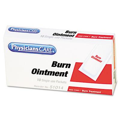 Burn Cream Packets, 10/Box