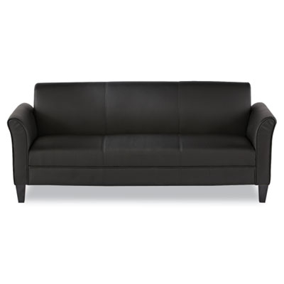 Reception Lounge Furniture, 3-Cushion Sofa, 77w x 31-1/2d x 32h,