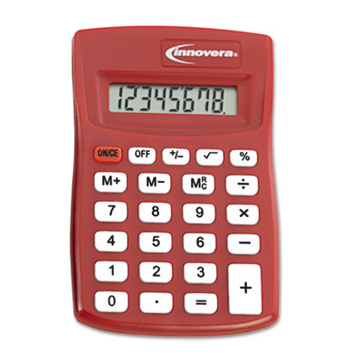 15902 Pocket Calculator, 8-Digit LCD