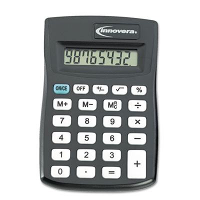 15901 Pocket Calculator, 8-Digit LCD