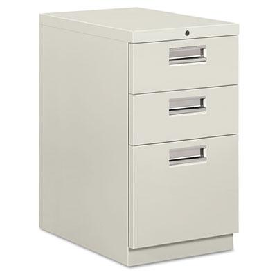 "Brigade Mobile Box/Box/File Pedestal, Recessed Pulls, 22-7/8"" De"