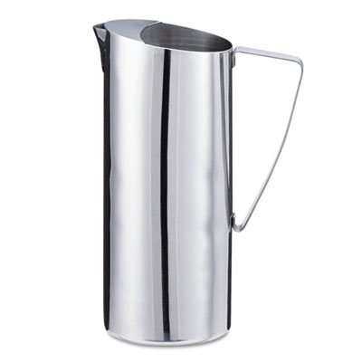 Stainless Steel Pitcher, 2qt, Chrome