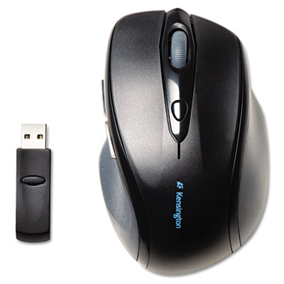 Black Right 72405 Windows KMW Pro Fit Mid-Size Wireless Mouse