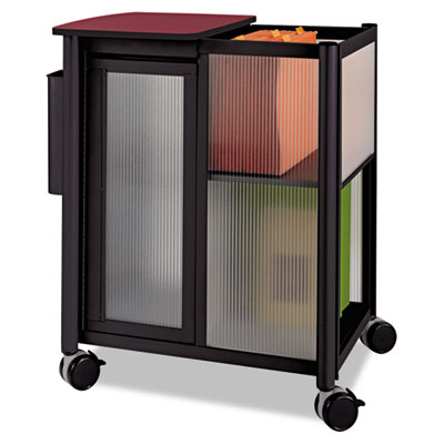 Impromptu Mobile Storage Center w/Hanging File, 23-1/2 x 17-3/4