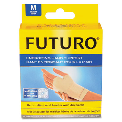 "Energizing Support Glove, Medium, Palm Size 7 1/2"" - 8 1/2"", Tan"