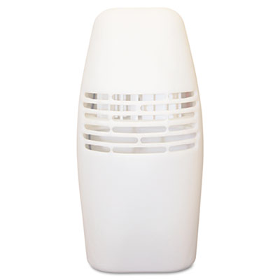 Locking Fan Fragrance Dispenser, 3w x 4 1/2d x 3 5/8h, White