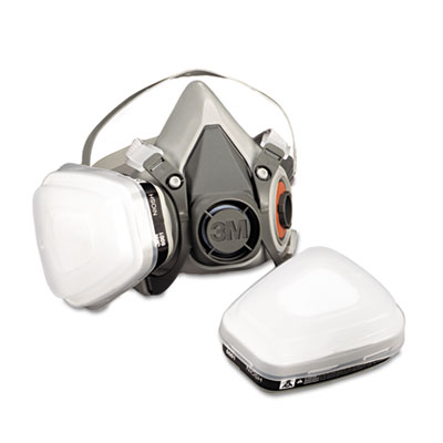 Half Facepiece Paint Spray/Pesticide Respirator, Medium