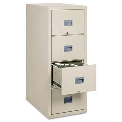 Patriot Insulated Four-Drawer Fire File, 17-3/4w x 31-5/8d x 52-