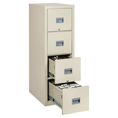 Patriot Insulated Four-Drawer Fire File, 17-3/4w x 25d x 52-3/4h