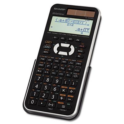 EL-W516XBSL Scientific Calculator, 16-Digit LCD<br />91-SHR-ELW516XBSL