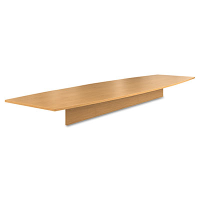 Preside Boat-Shaped Conference Table Top, 168w x 48d, Harvest
