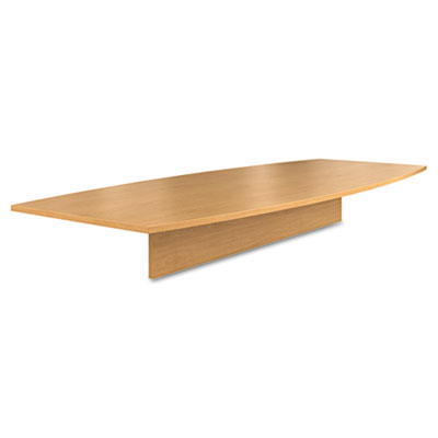 Preside Boat-Shaped Conference Table Top, 120w x 48d, Harvest