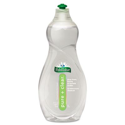 Pure & Clear Dish Liquid, Light Scent, 25oz Bottle, 12/Carton