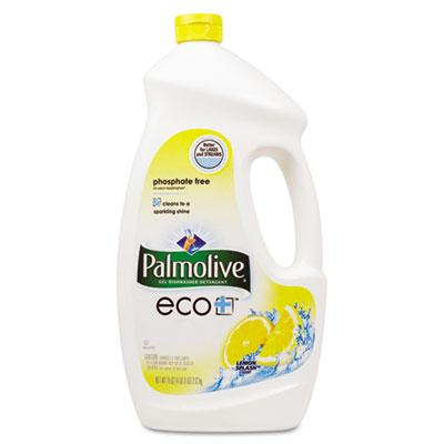 Automatic Dishwashing Gel, Lemon, 75oz Bottle, 6/Carton
