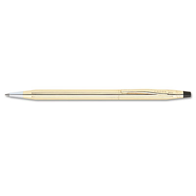 Classic Century Ballpoint Twist-Action Pen, Black Ink, Medium