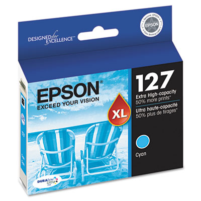 T127220 (127) Extra High-Yield Ink, Cyan