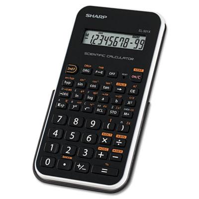 EL-501XBWH Scientific Calculator, 10-Digit LCD<br />91-SHR-EL501XBWH