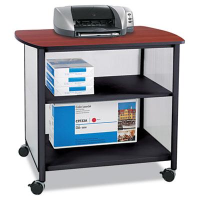 Impromptu Deluxe Machine Stand, 34-3/4w x 25-1/2d x 31h, Black/C