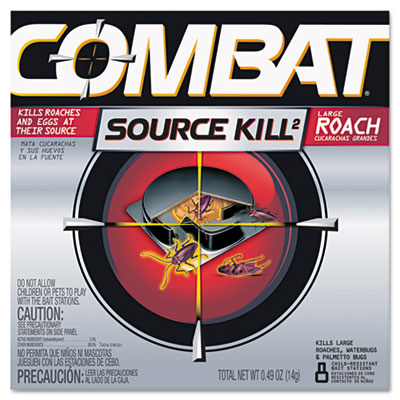 Source Kill Large Roach Killing System, Child-Resistant Disc, 8/