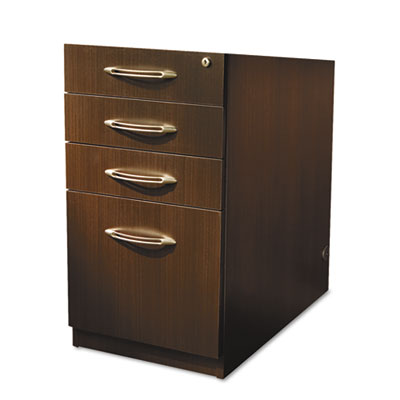 Aberdeen Series Pencil/Box/Box/File Laminate Desk Pedestal 15