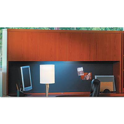 Aberdeen Series Laminate Wood Door Hutch, 72w x 15d x 39h, Cherr