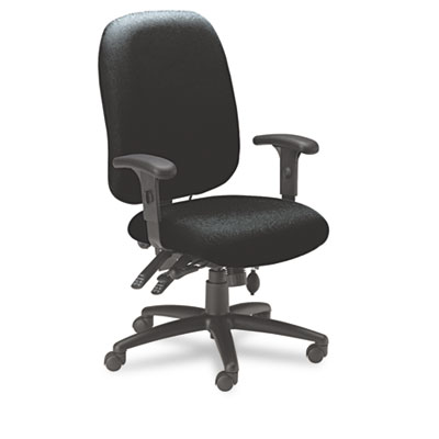 24-Hour High-Performance Task Chair, Acrylic/Poly Blend Fabric,