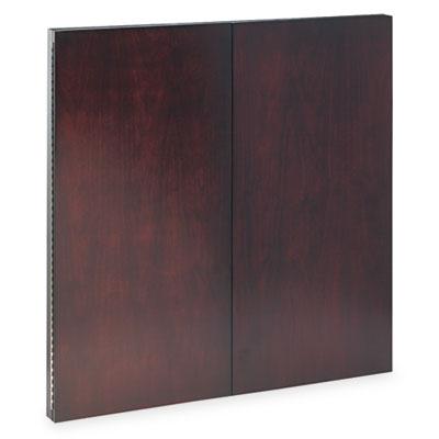 Corsica Series Veneer Dry Erase Presentation Board, 48 x 48, Mah