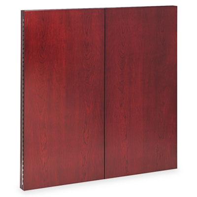 Corsica Series Veneer Dry Erase Presentation Board, 48 x 48, Sie