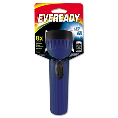 Eveready LED Economy Bright Light, 1 D, Assorted