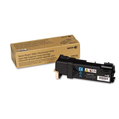 106R01594 High-Capacity Toner, 2,500 Page-Yield, Cyan