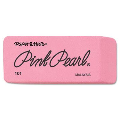 Pink Pearl Eraser, Large, 12/Box
