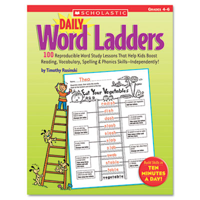Daily Word Ladders, Grades 4-6, 112 Pages