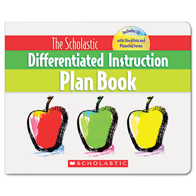 Differentiated Instruction Plan Book with CD, 96 pages, Grades 3