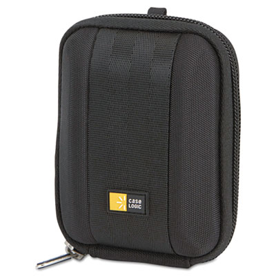 Compact Camera Case with EVA Shell, Polyester/EVA, 3-1/2 x 1-2/5