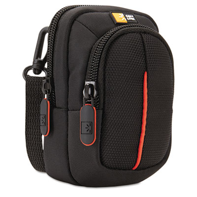 Compact Digital Camera Case with Storage, Polyester/Nylon, 3 x 2