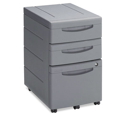 Aspira Mobile Underdesk Pedestal File, Resin, Box/Box/File Drawe