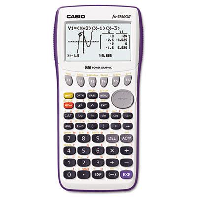 9750GII Graphing Calculator, 21-Digit LCD<br />91-CSO-FX9750GIIWE