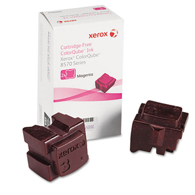 108R00927 Solid Ink Stick, Magenta, 2/Box<br />91-XER-108R00927