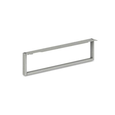 Voi O-Leg Support for Low Credenza, 30d x 7h, Platinum Metallic