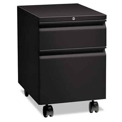 "Flagship Mobile Box/File Pedestal, Full Radius Pull, 22-7/8"" Dee"